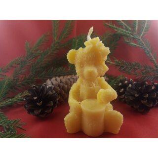 Kerze Honigbärchen