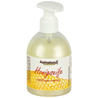 Honey soap liquid, 250ml dispenser
