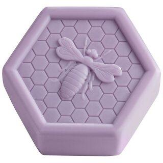 "Honey soap ""Lavender"", honeycomb form 100g"