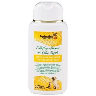 Apinatur-vet fur care shampoo with royal jelly, 200ml