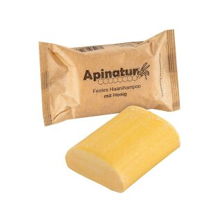 Solid shampoo with honey