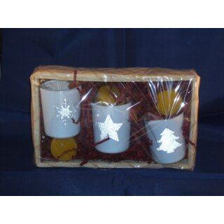Gift set tea lights