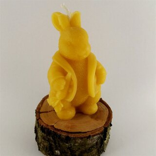 """Beeswax candle Easter bunny, """"Master Lamp"""""""